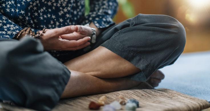 Zen-Meditation Dhyana-Mudra
