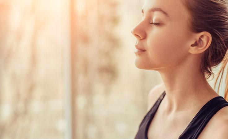 Zen-Meditation Atmung
