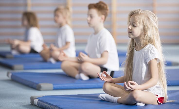 Atemübungen sind für Kinder sehr nützlich
