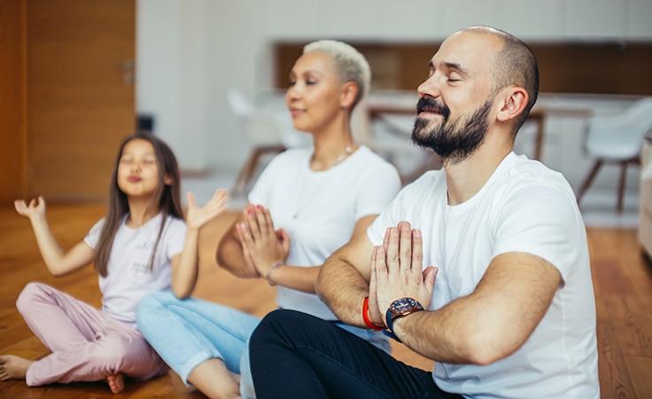 Yoga in der Familie