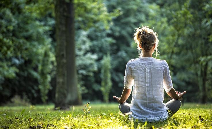 Meditieren kann helfen bei Stress